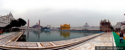 Golden Temple, panorama