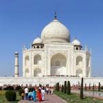 13 Agra- Taj Mahal closer