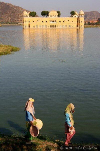 Jaipur, Jal Mahal- Pałac na Wodzie!