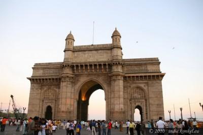 Brama, którą widzieli wszyscy marynarze, wpływający do Bombay (dziś: Mumbai)