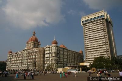 Mumbai, hotel Taj Mahal z historią zamachową